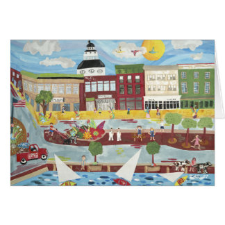 Annapolis in the Summer (greeting card) Card