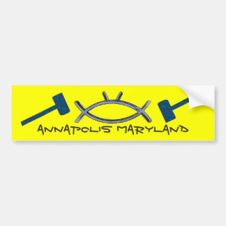 Annapolis Maryland Bumper Sticker