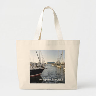 Annapolis, Maryland Large Tote Bag