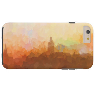 Annapolis Maryland Skyline IN CLOUDS Tough iPhone 6 Plus Case