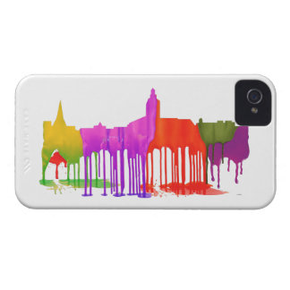 ANNAPOLIS MARYLAND SKYLINE PUDDLES - iPhone 4 CASES