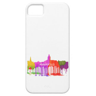 ANNAPOLIS MARYLAND SKYLINE PUDDLES - iPhone 5 COVER