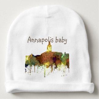 Annapolis, Maryland Skyline SG - Safari Buff Baby Beanie