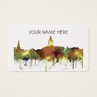 Annapolis, Maryland Skyline SG - Safari Buff Business Card