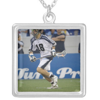 ANNAPOLIS, MD - AUGUST 13: Ben Hunt #18 Silver Plated Necklace
