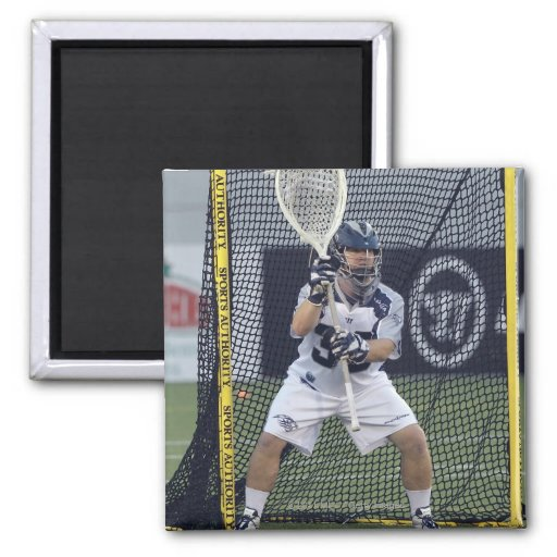 ANNAPOLIS, MD - AUGUST 13:  Goalie Brian Phipps Magnets