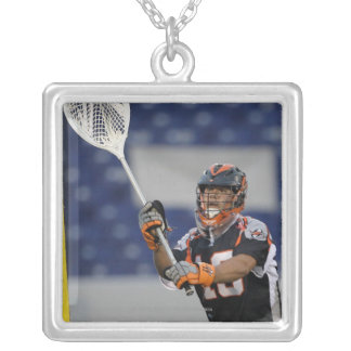 ANNAPOLIS, MD - AUGUST 13:  Goalie Jesse Silver Plated Necklace