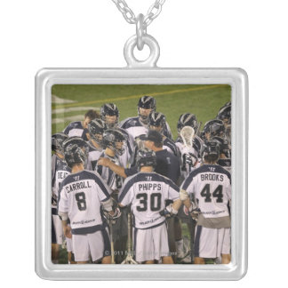 ANNAPOLIS, MD - AUGUST 13: Members Silver Plated Necklace