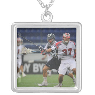 ANNAPOLIS, MD - AUGUST 27: Brian Farrell #37 Silver Plated Necklace