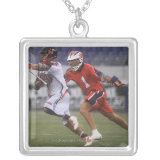 ANNAPOLIS, MD - AUGUST 27: Joe Walters #1 Silver Plated Necklace