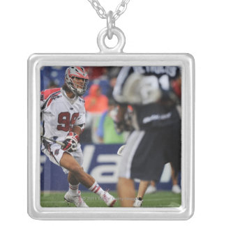 ANNAPOLIS, MD - AUGUST 27: Paul Rabil #99 10 Silver Plated Necklace