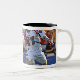 ANNAPOLIS, MD - AUGUST 28:  Casey Powell #7 2 Two-Tone Mug