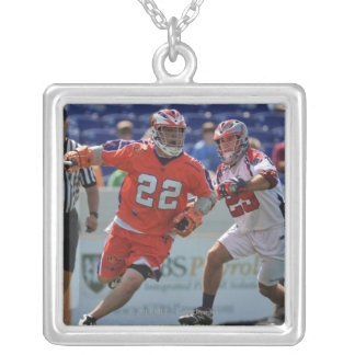 ANNAPOLIS, MD - AUGUST 28:  Cody Jamieson #22 2 Silver Plated Necklace