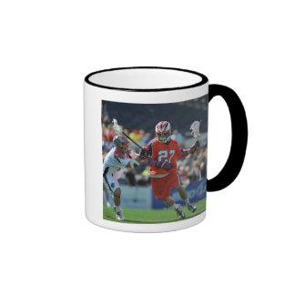 ANNAPOLIS, MD - AUGUST 28:  David Earl #27 7 Ringer Mug