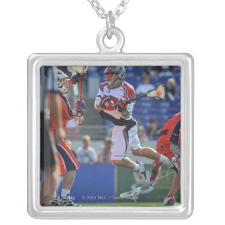 ANNAPOLIS, MD - AUGUST 28:  Kevin Buchanan #27 5 Silver Plated Necklace