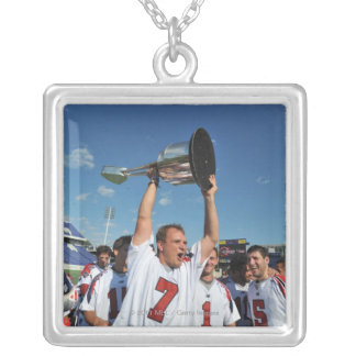 ANNAPOLIS, MD - AUGUST 28:  Matt Poskay #7 Silver Plated Necklace
