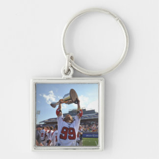 ANNAPOLIS, MD - AUGUST 28:  Paul Rabil #99 3 Silver-Colored Square Key Ring