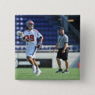 ANNAPOLIS, MD - AUGUST 28:  Paul Rabil #99 6 15 Cm Square Badge