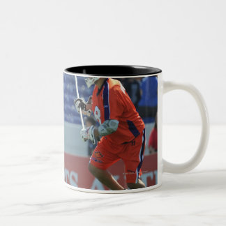 ANNAPOLIS, MD - AUGUST 28:  Ryan Boyle #14 3 Two-Tone Coffee Mug