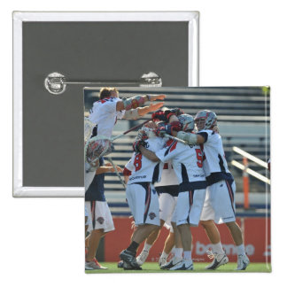 ANNAPOLIS, MD - AUGUST 28:  The Boston Cannons 3 15 Cm Square Badge