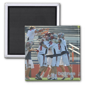 ANNAPOLIS, MD - AUGUST 28:  The Boston Cannons 3 Square Magnet