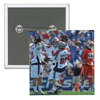 ANNAPOLIS, MD - AUGUST 28:  The Boston Cannons 4 15 Cm Square Badge