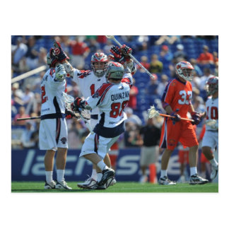ANNAPOLIS, MD - AUGUST 28:  The Boston Cannons 4 Postcard