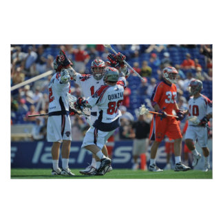 ANNAPOLIS, MD - AUGUST 28:  The Boston Cannons 4 Poster