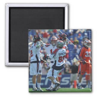 ANNAPOLIS, MD - AUGUST 28:  The Boston Cannons 4 Square Magnet