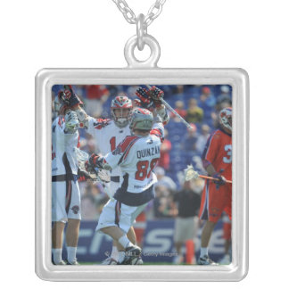 ANNAPOLIS, MD - AUGUST 28:  The Boston Cannons 4 Square Pendant Necklace