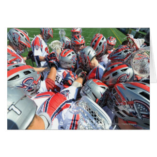 ANNAPOLIS, MD - AUGUST 28:  The Boston Cannons 5 Greeting Card