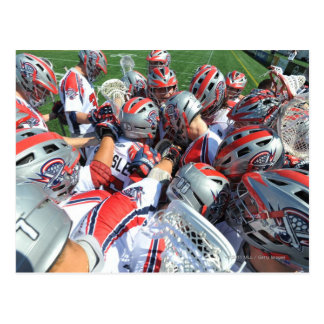 ANNAPOLIS, MD - AUGUST 28:  The Boston Cannons 5 Postcard