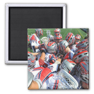 ANNAPOLIS, MD - AUGUST 28:  The Boston Cannons 5 Square Magnet