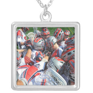 ANNAPOLIS, MD - AUGUST 28:  The Boston Cannons 5 Square Pendant Necklace