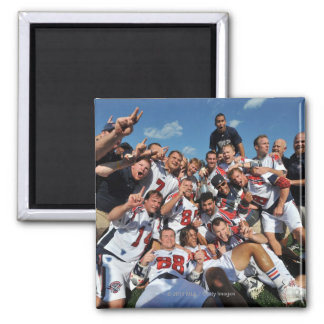 ANNAPOLIS, MD - AUGUST 28:  The Boston Cannons 6 Square Magnet