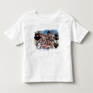 ANNAPOLIS, MD - AUGUST 28:  The Boston Cannons 6 Tee Shirt