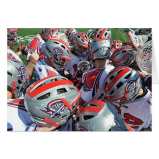 ANNAPOLIS, MD - AUGUST 28:  The Boston Cannons Greeting Card