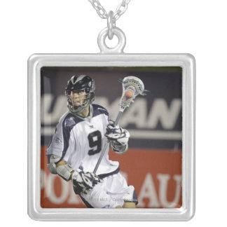 ANNAPOLIS, MD - JULY 02:  Danny Glading #9 2 Silver Plated Necklace
