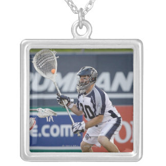 ANNAPOLIS, MD - JULY 02: Goalie Brian Phipps #30 Square Pendant Necklace
