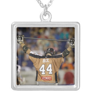 ANNAPOLIS, MD - JULY 02: Greg Bice #44 walksf Silver Plated Necklace