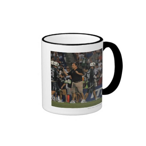 ANNAPOLIS, MD - JULY 23:  Head coach Jim Mule 2 Coffee Mugs