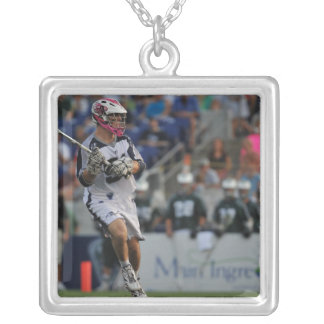 ANNAPOLIS, MD - JULY 23:  Michael Kimmell #51 Silver Plated Necklace