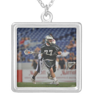 ANNAPOLIS, MD - JULY 23:  Mike Unterstein #77 Silver Plated Necklace