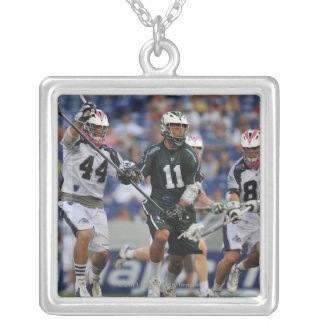ANNAPOLIS, MD - JULY 23:  Ricky Pages #11 Silver Plated Necklace