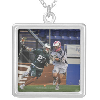 ANNAPOLIS, MD - JULY 23:  Ryan Young #27 3 Silver Plated Necklace