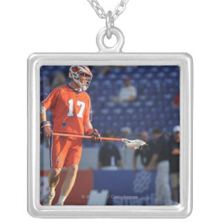 ANNAPOLIS, MD - JULY 30:  Brodie Merrill #17 2 Silver Plated Necklace