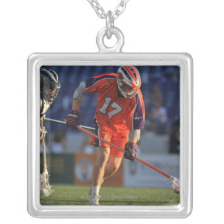 ANNAPOLIS, MD - JULY 30:  Brodie Merrill #17 Silver Plated Necklace