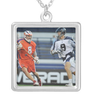 ANNAPOLIS, MD - JULY 30:  Danny Glading #9 4 Silver Plated Necklace