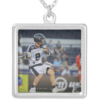 ANNAPOLIS, MD - JULY 30:  Justin Smith #2 3 Square Pendant Necklace