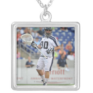 ANNAPOLIS, MD - JUNE 25:  Brian Phipps #30 Silver Plated Necklace